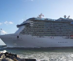 Regal Princess departing Port Everglades ©CruiseInd