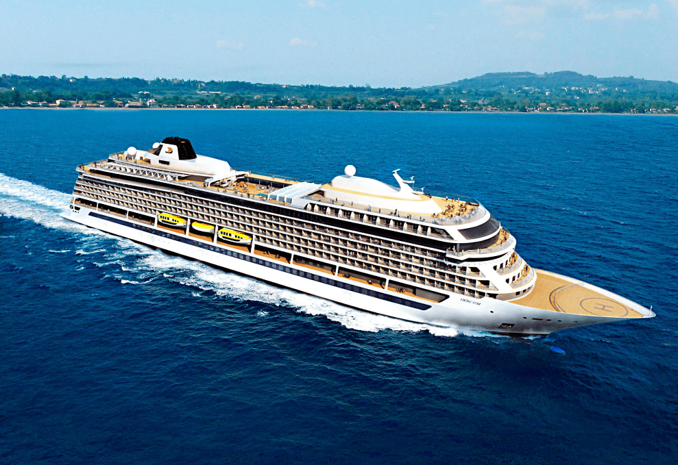 Viking Star Floated Out In Italy Cruiseind