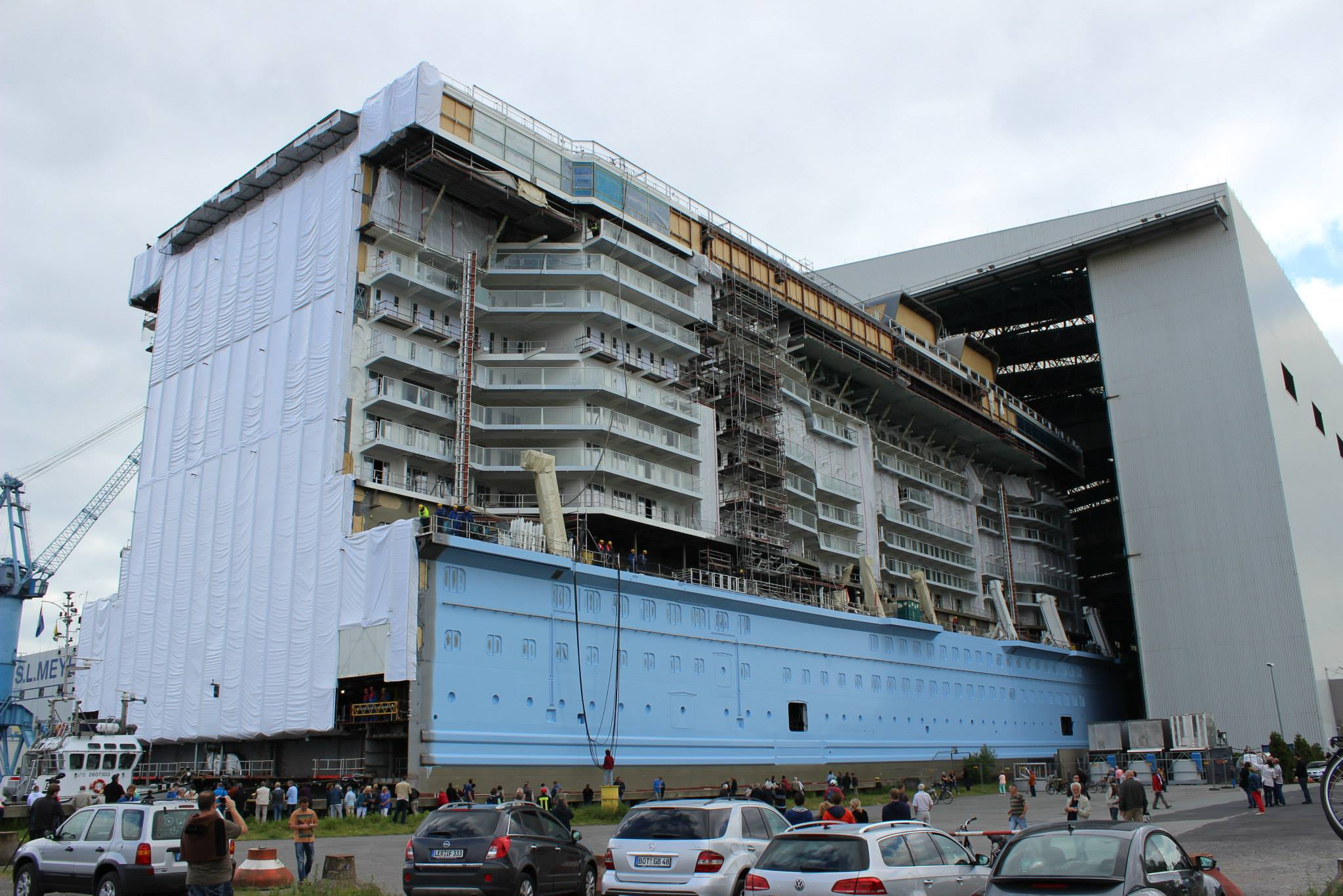 Fire Damages Partially Completed Ship At Meyer Werft Cruiseind