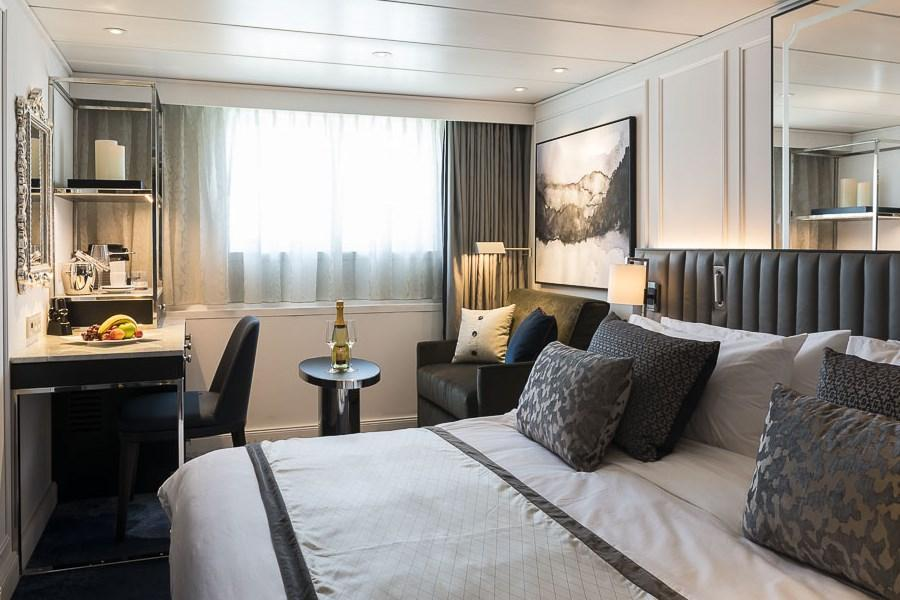 Crystal Mozart cabins and suites  CruiseMapper