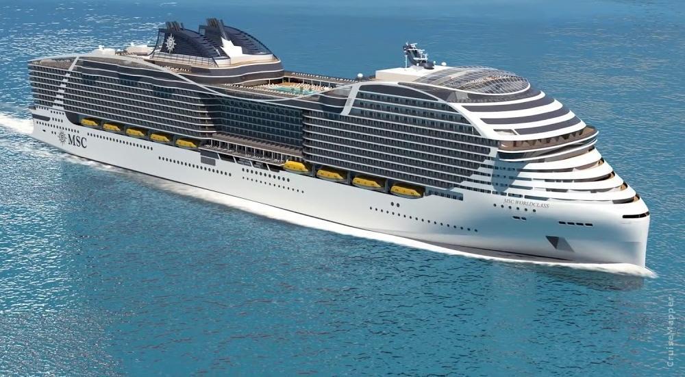 MSC World-class cruise ship