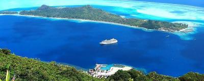 Bora Bora Island (Society Islands, French Polynesia ...
