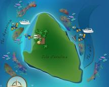 Catalina Island Dominican Republic Map