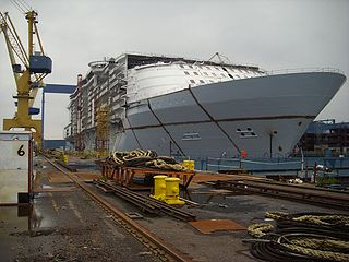 Cruise Ship Building yard
