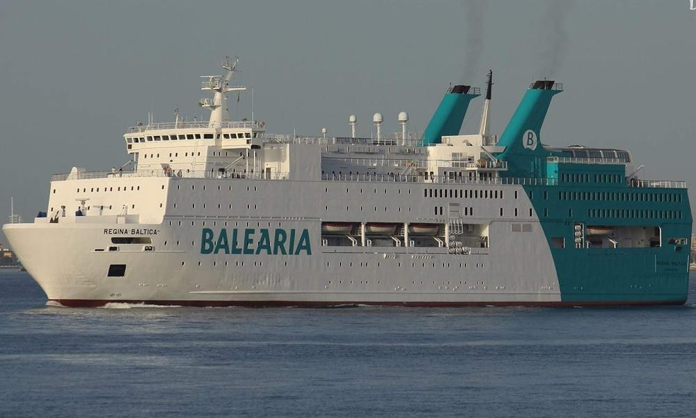 Regina Baltica ferry BALEARIA  CruiseMapper