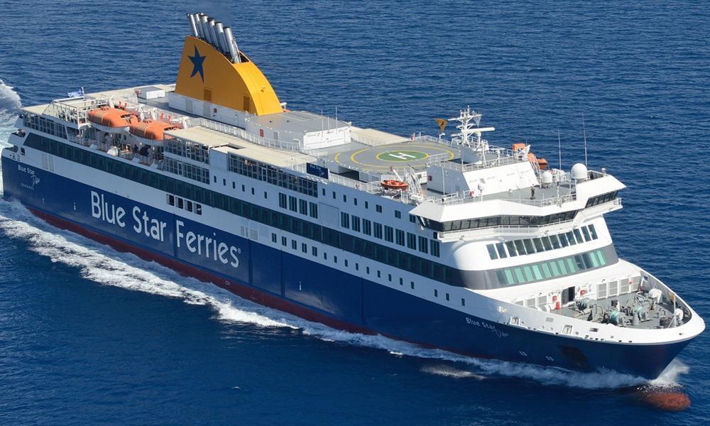 Blue Star Patmos ferry BLUE STAR FERRIES  CruiseMapper