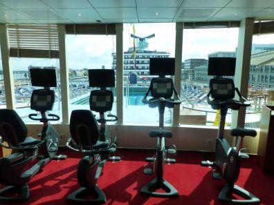 MS Prinsendam - gym