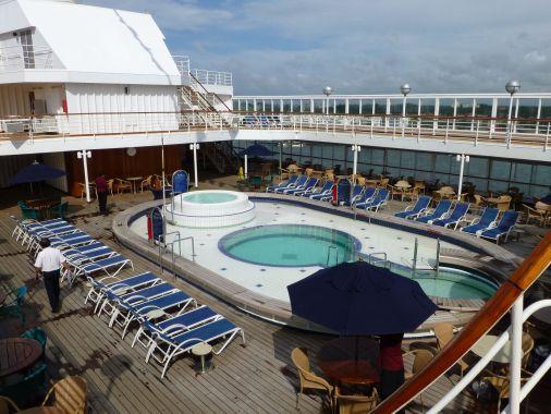 MS Prinsendam - pool