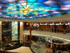 Crystal Serenity - atrium
