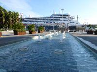 MS Rotterdam in Cadiz