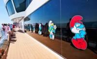 Smurfen bij MSC Cruises