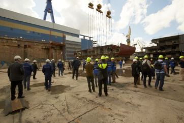 Keel_Laying_of_Mein_Schiff_5