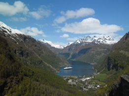 Geirangerfjord. - Leo, mei 2014