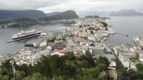 Aan de kade, Noorwegen in 2014. - Gerry van 't Slot, 2014