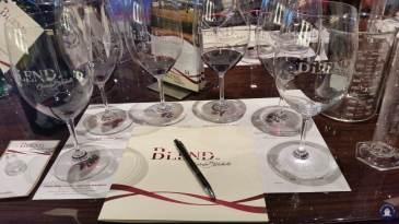 Koningsdam Blend wijnproeven