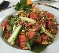 Watermeloen zoete Thaise salade