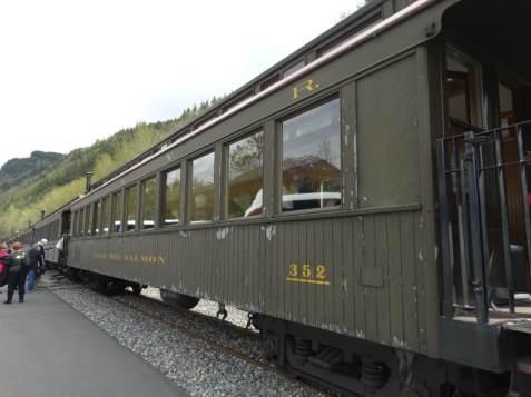 White Pass train