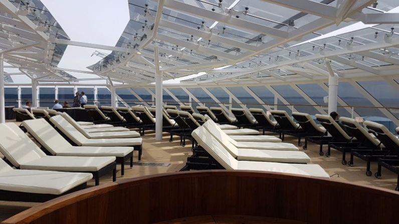 MSC Yacht Club Solarium