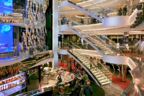Atrium MSC Seaside