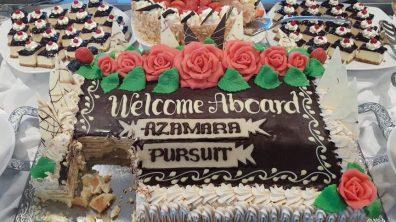 Azamara Pursuit Welcome on Board