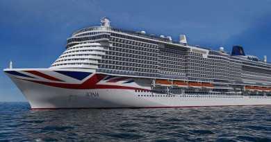 Nieuw cruiseschip P&O Cruises wordt donderdagnacht uitgedokt bij Meyer Werft