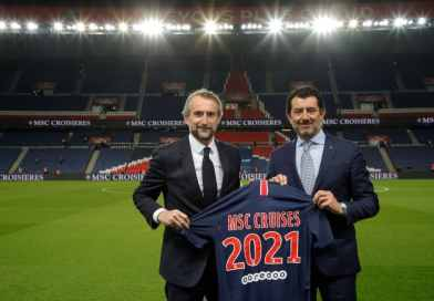 MSC Cruises wordt sponsor van voetbalclub Paris Saint-Germain
