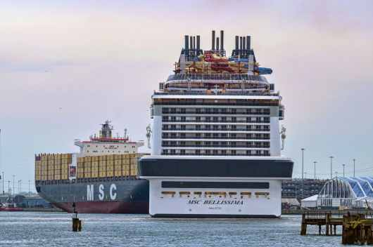 01 March 2019, MSC Bellissima at Southampton