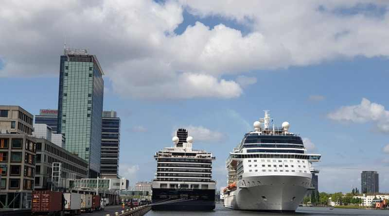 Amsterdam blijft populair bij cruisepassagiers