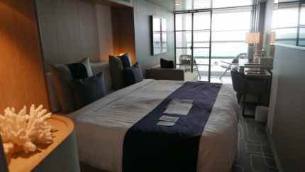 Celebrity Edge balkonhut concierge 002