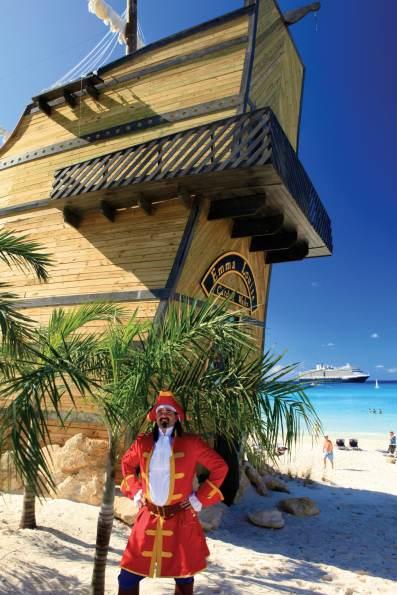 Half Moon Cay - Captain Morgan Bar