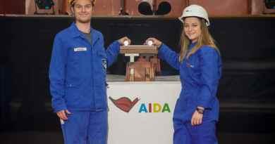 AIDA Cruises onthult naam 2e LNG schip