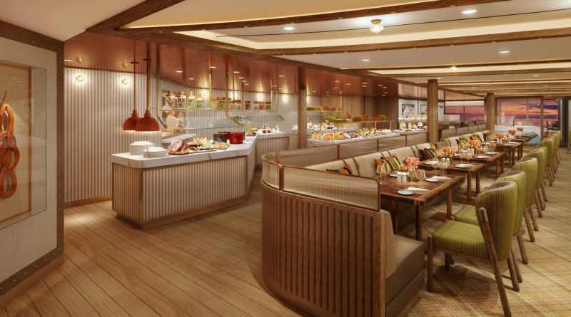 Seabourn onthult details eerste restaurant aan boord van Seabourn Venture