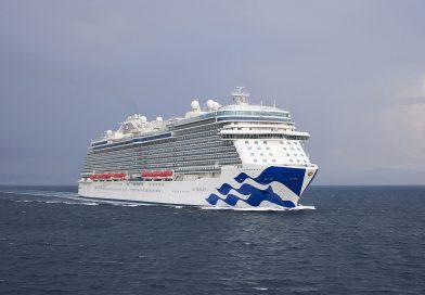 Nieuwste schip Princess Cruises overgedragen aan rederij