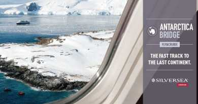Silversea vliegt je in business class naar Antarctica