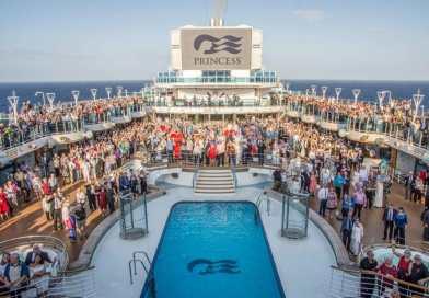Nieuw Wereldrecord 'Trouwbelofte vernieuwen op zee' bij Princess
