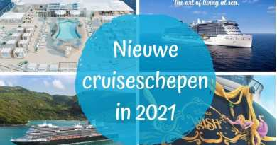 De 13 nieuwe grote cruiseschepen van 2021
