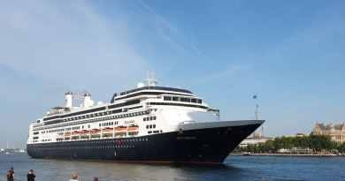Fotoreportage: Laatste call MS Rotterdam in Rotterdam