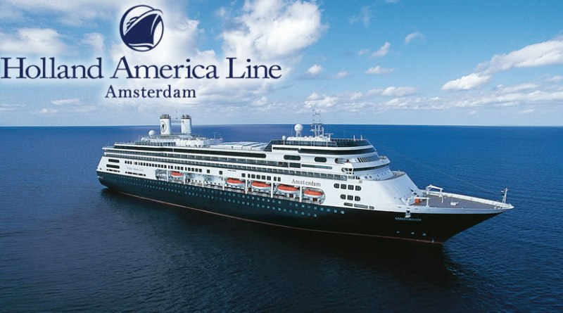 Cruiseschip Amsterdam komt zaterdag al naar Rotterdam
