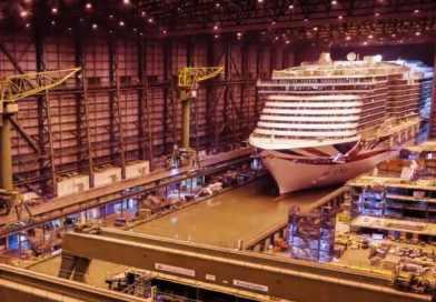 Video: Timelapse bouw van Iona bij Meyer Werft