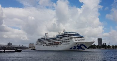 Pacific Princess verlaat de vloot van Princess Cruises