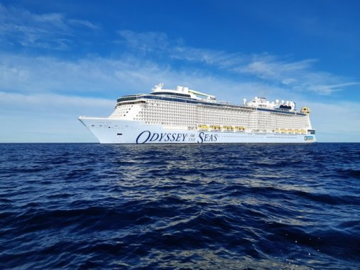 Odyssey of the Seas op de Noordzee