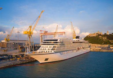 Fincantieri levert Viking Venus op in Ancona