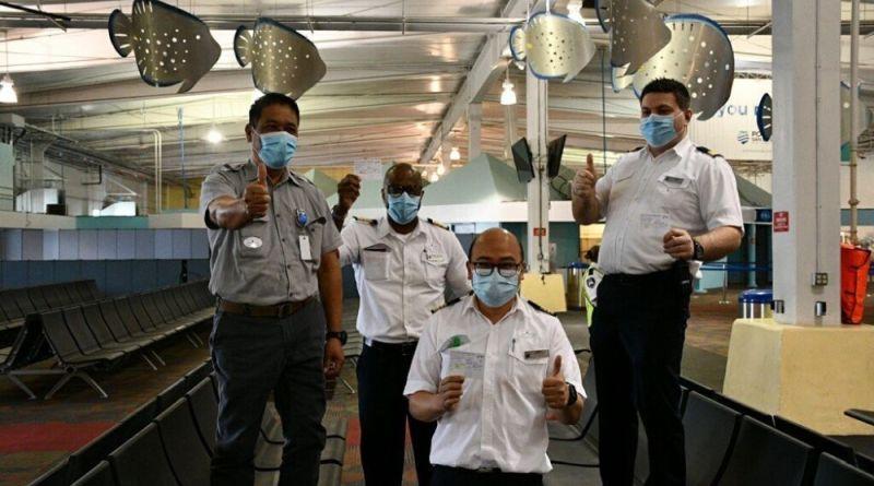 Gevaccineerde medewerkers van Koningsdam