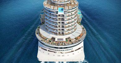 Norwegian Cruise Line onthult haar nieuwste cruiseschip Norwegian Prima