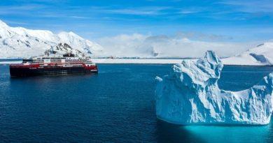 Hurtigruten naar Noordpool en antarctica