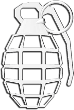 Cruiser Accessories : Grenade Auto Decal