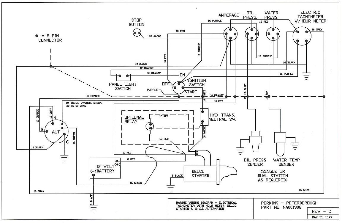 Perkins Sel Engine Wiring Diagram Diesel Ignition Switch