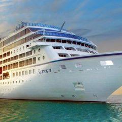 Oceania Cruises celebra el bautizo del Sirena