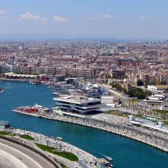 El puerto de Valencia recibe la escala de cuatro cruceros con 4.700 pasajeros