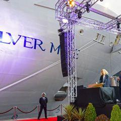 Silversea bautiza su nuevo buque insignia Silver Muse